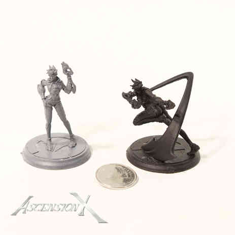 Figurines ''Overwatch'' (résine)