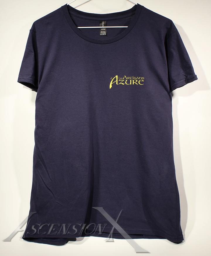 T-shirt Artisan d'Azure (sérigraphie)