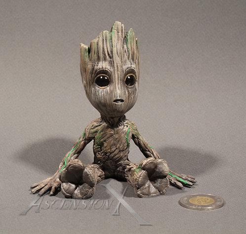Figurine Baby Groot en résine