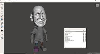 Bobblehead-impression-3D