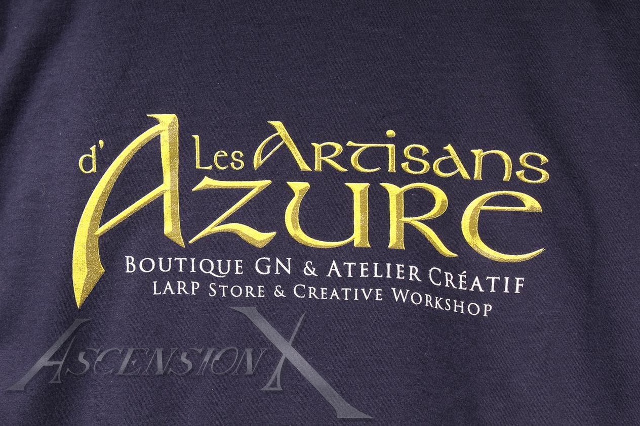 "T-shirt ""Les Artisans d'Azure"""
