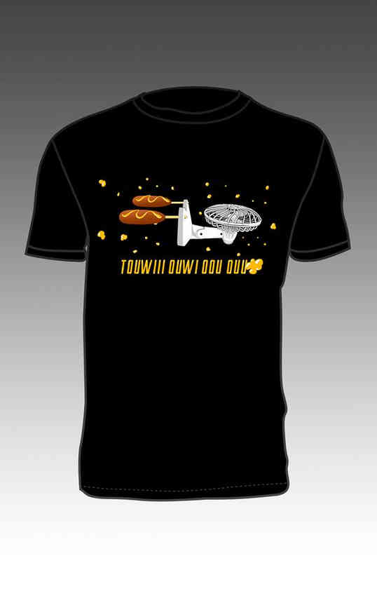 T-shirt USS Pogo (design)