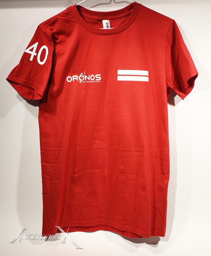 T-shirts Oronos (sérigraphie)