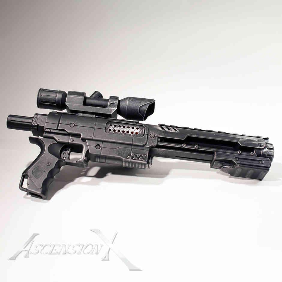 Blaster SW (PLA). Traitement de surface_