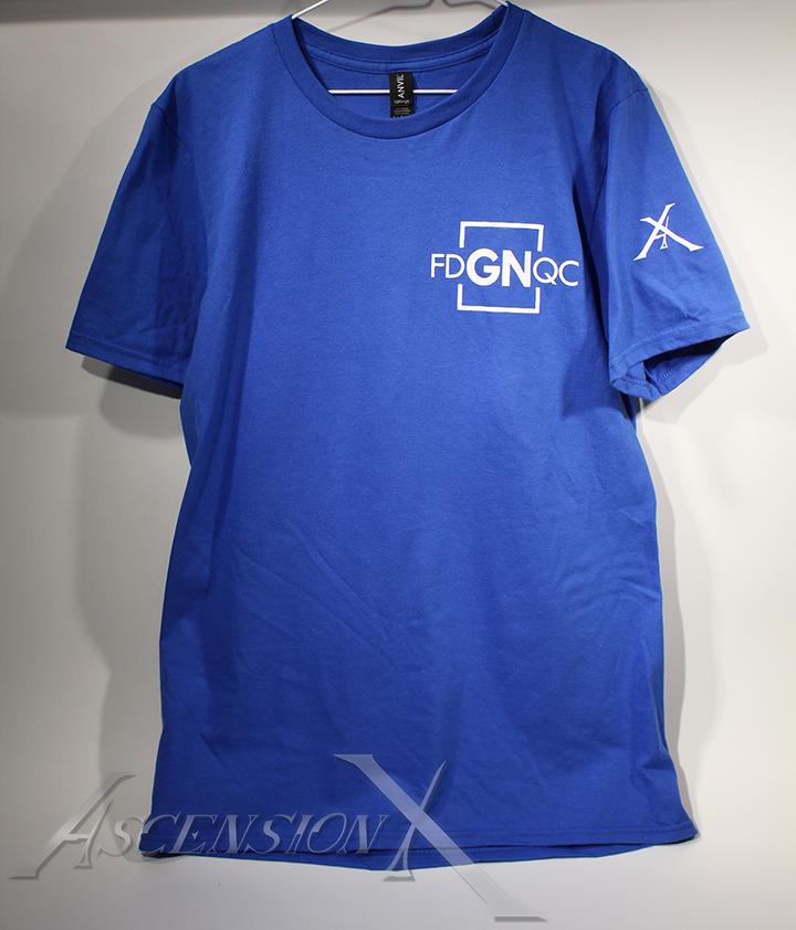 T-shirts FDGNQC (sérigraphie)