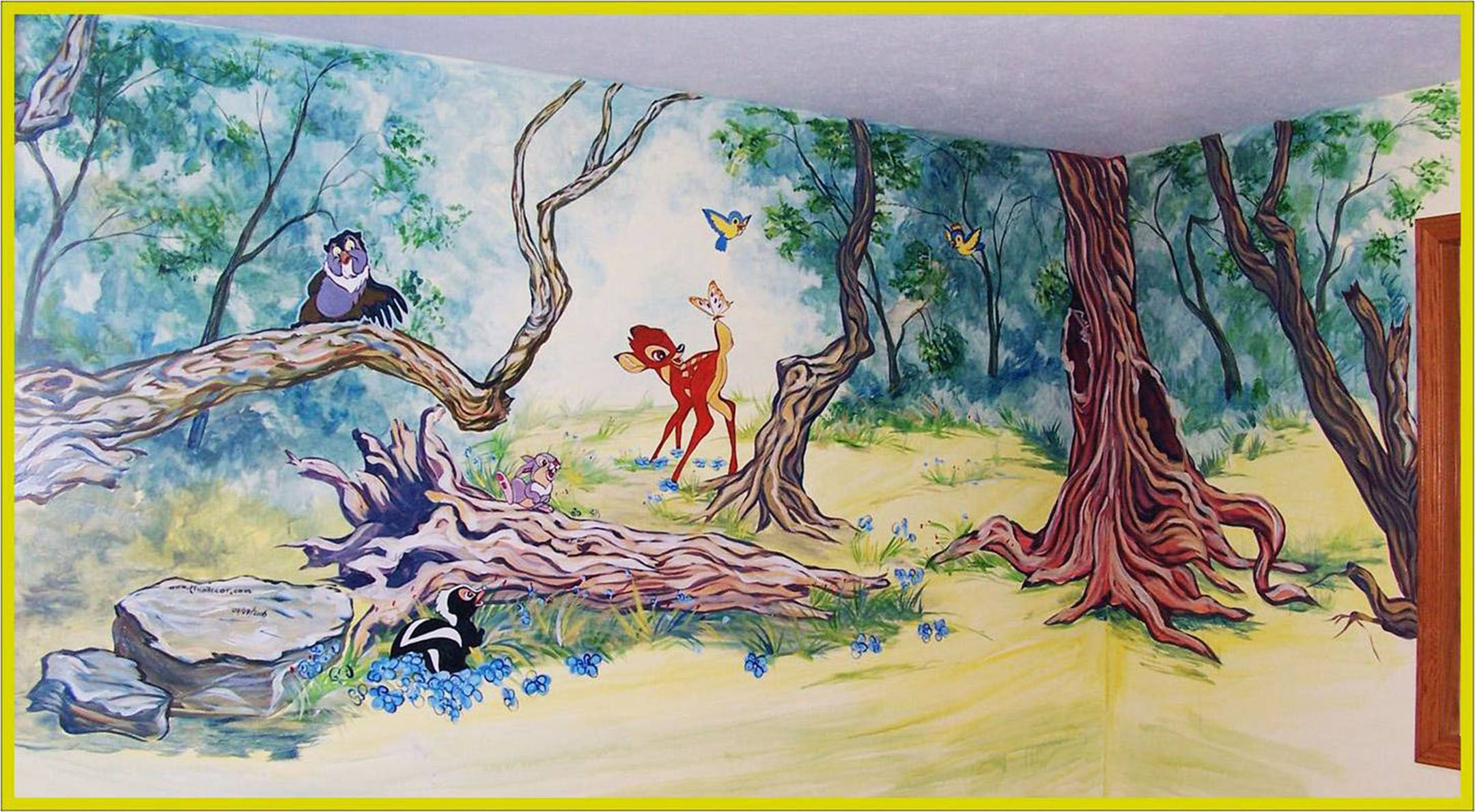 Nursery, Bambi - Mural by Design