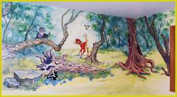 Nursery, Bambi - Mural by Design