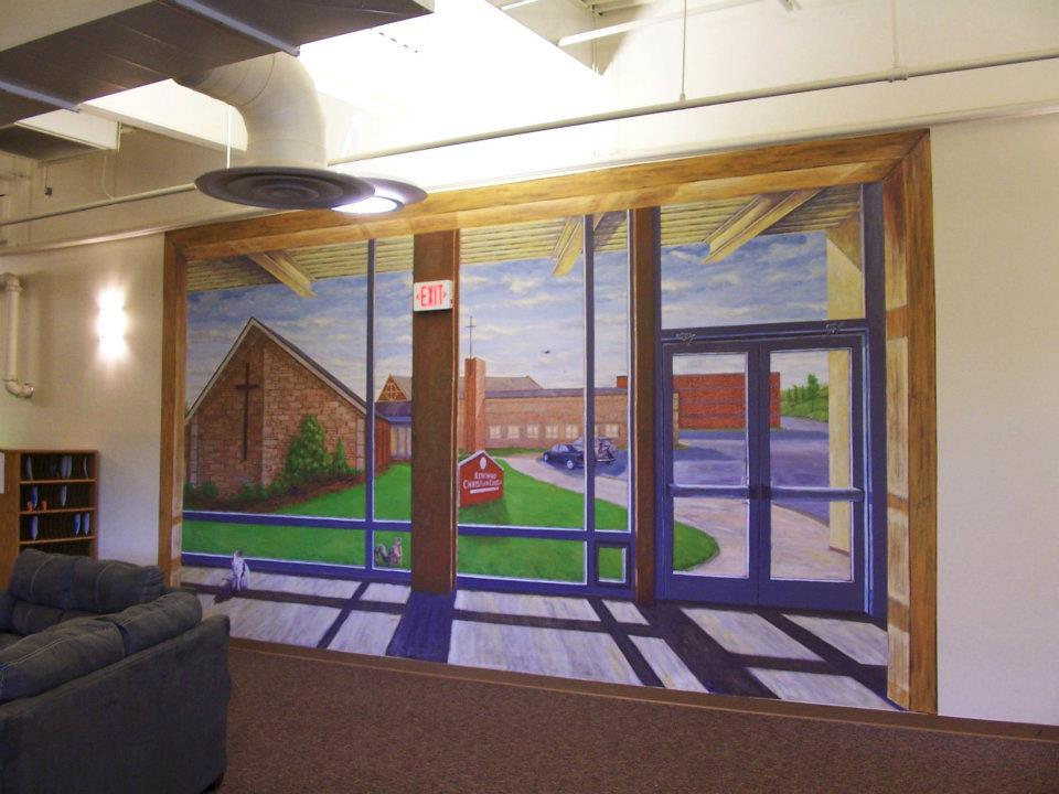 Kentwood Chr. Ch. - Mural by Design