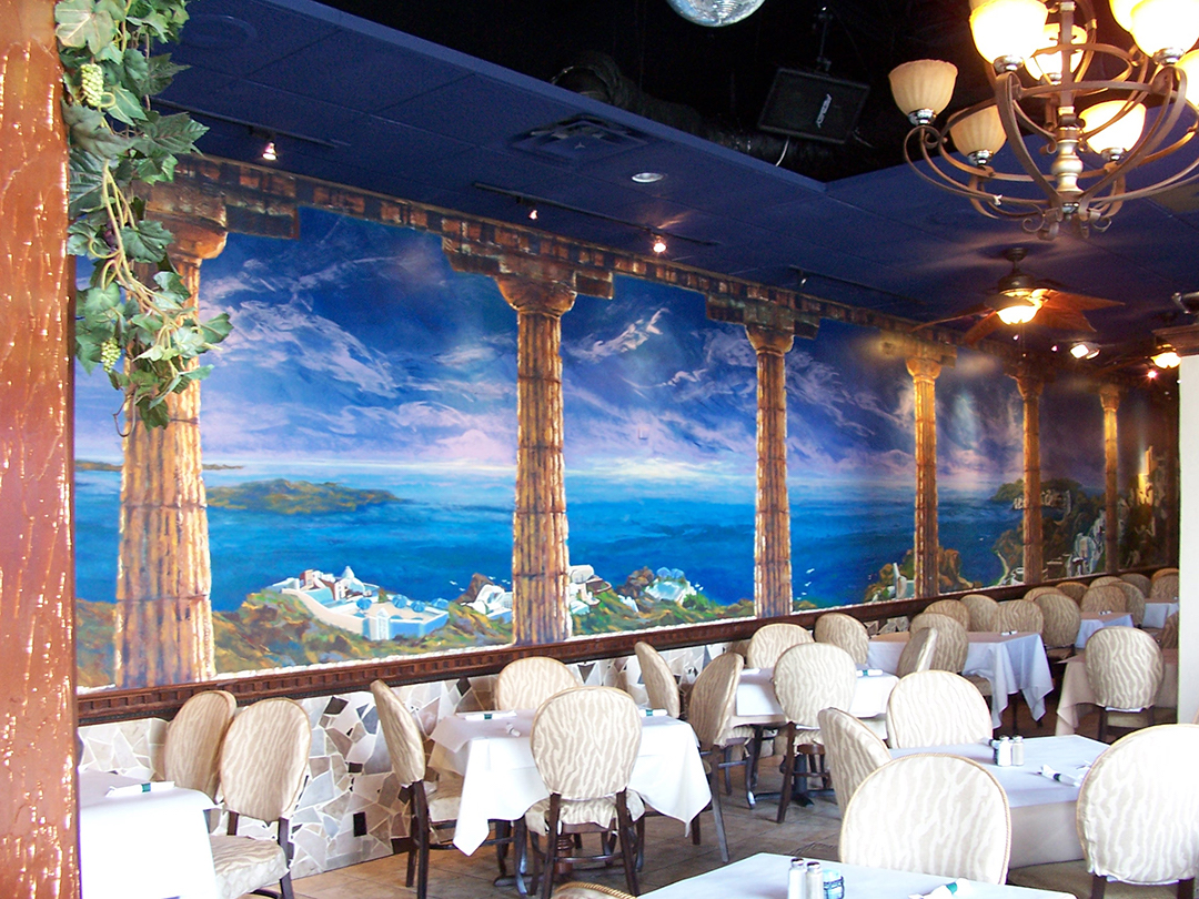 Greek Corner - Mural by Design