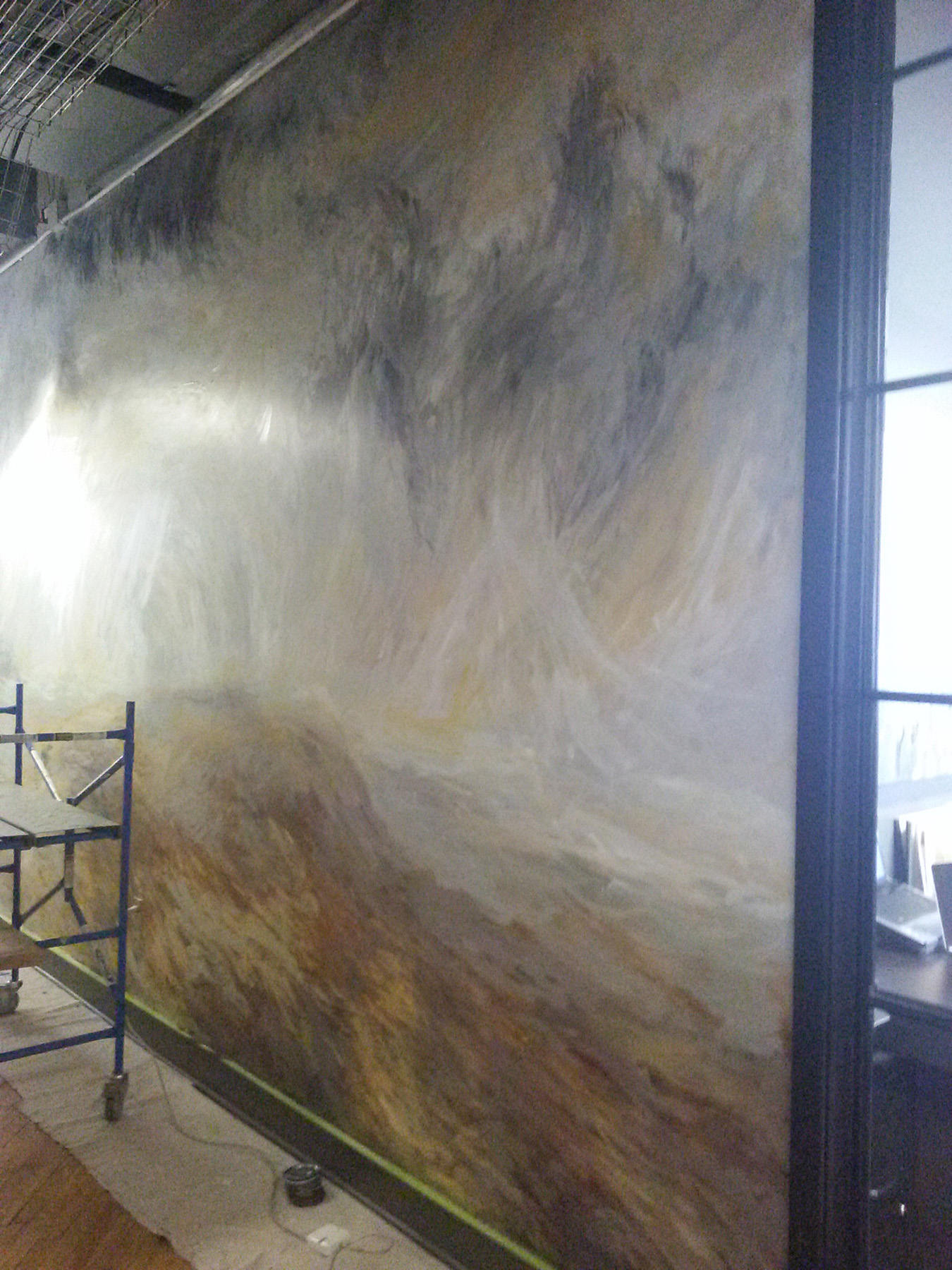 Harris Building - Mural by Design