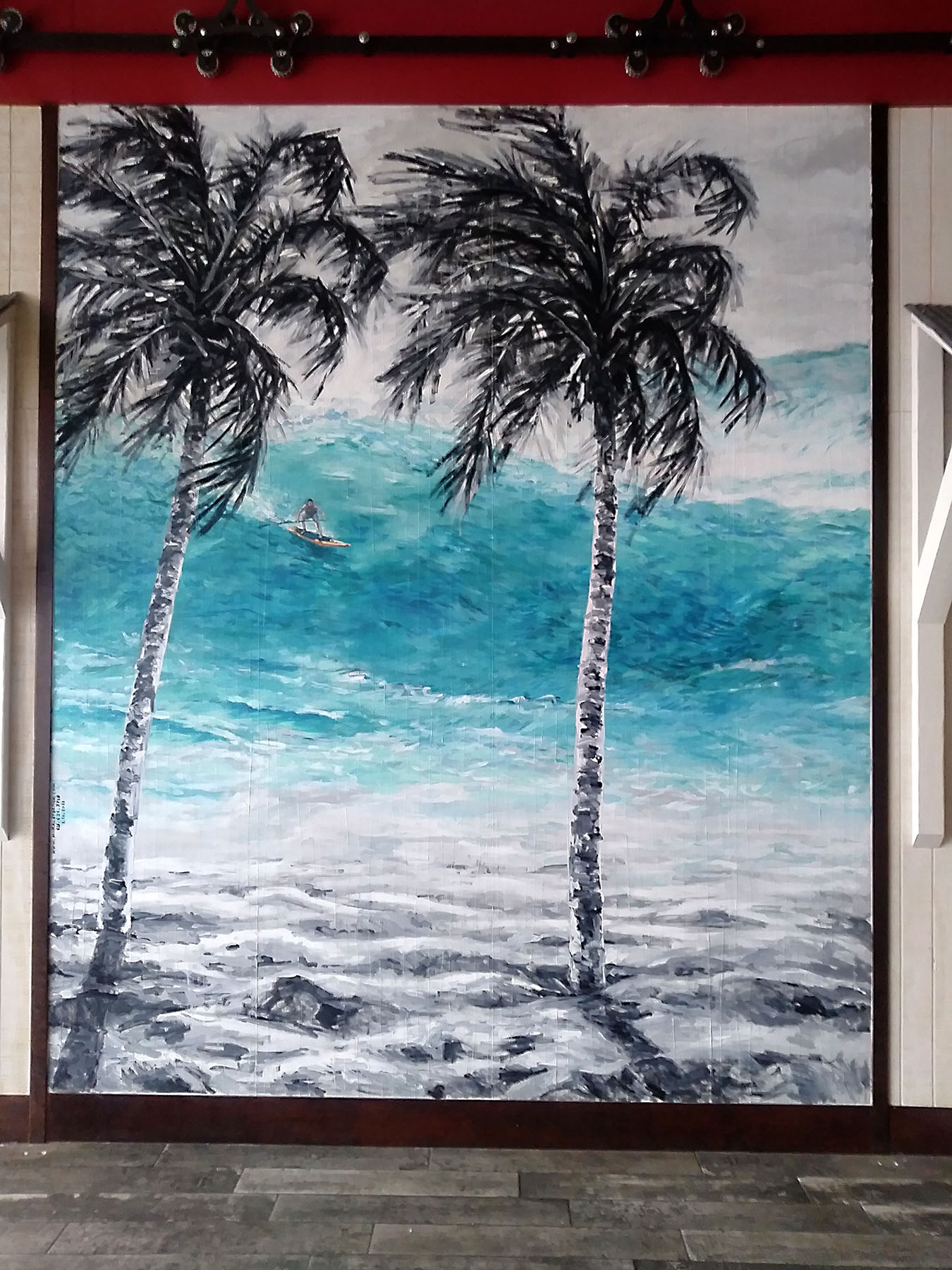 Palm Beach - Mural by Design