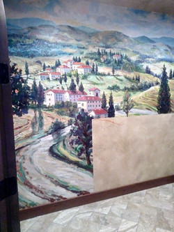 Residential - Tuscany Theme Mural