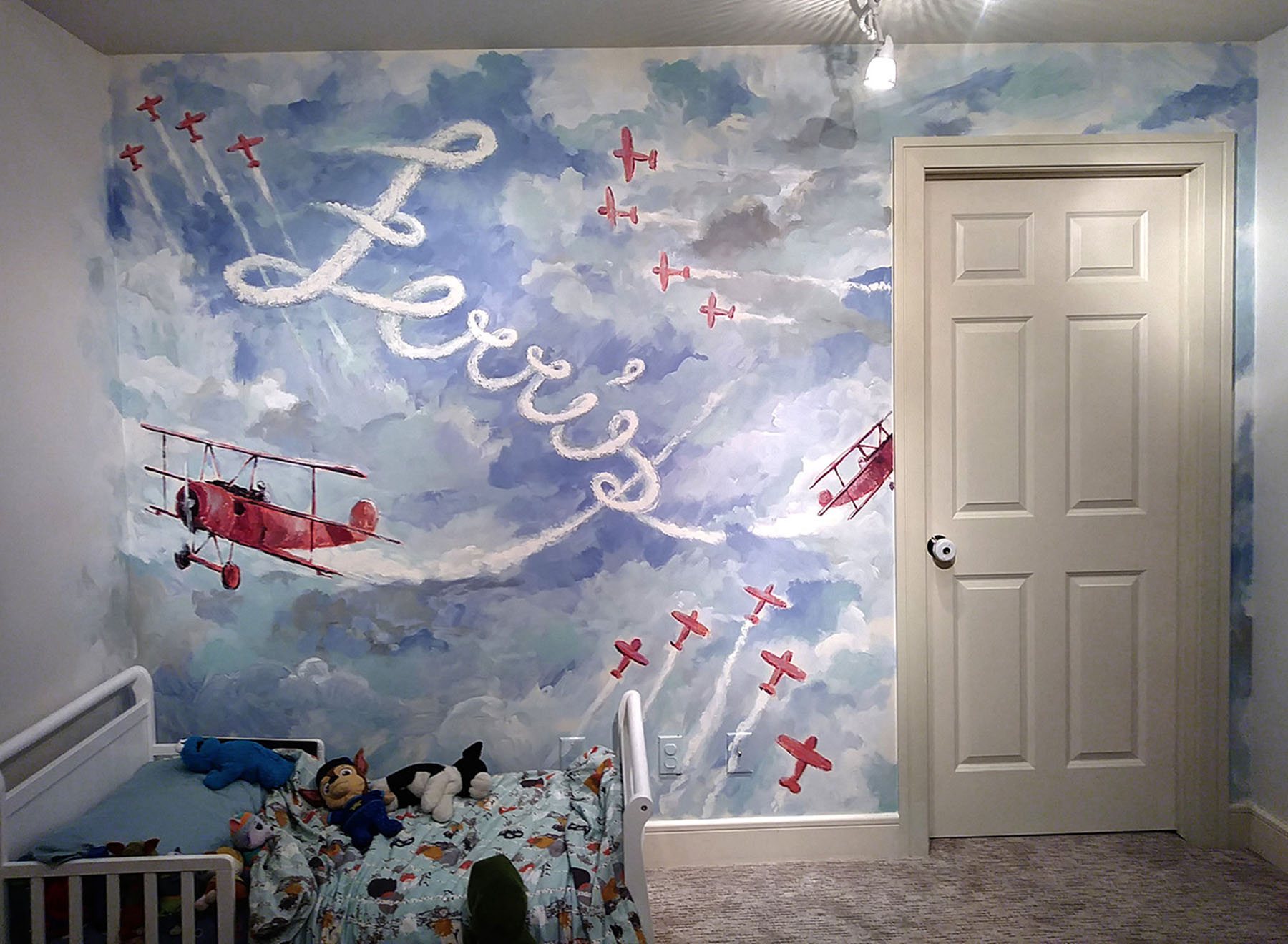 Ferris Nursery - Mural by Design