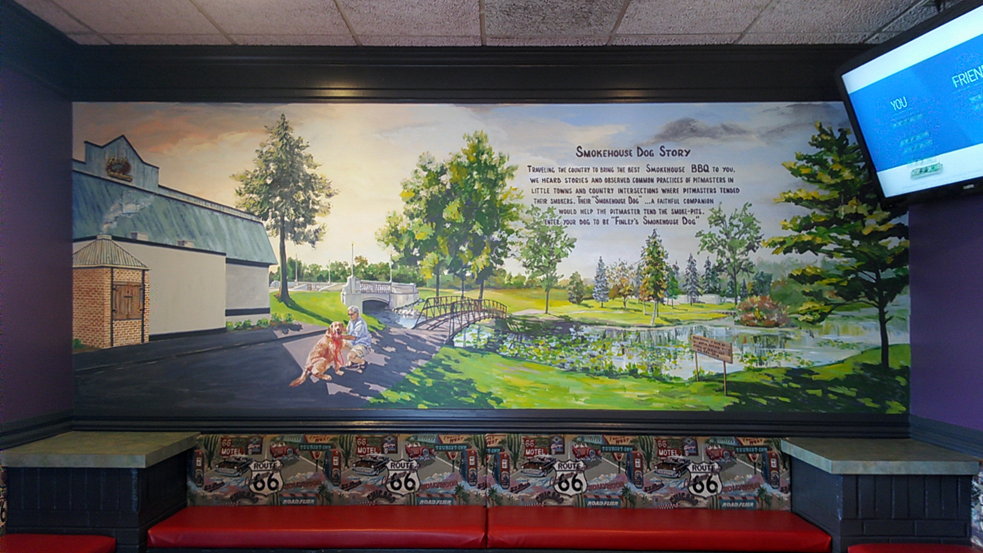 Finley's - Mural by Design