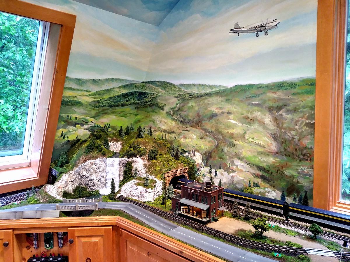 RailRoad Miniature - Mural by Design