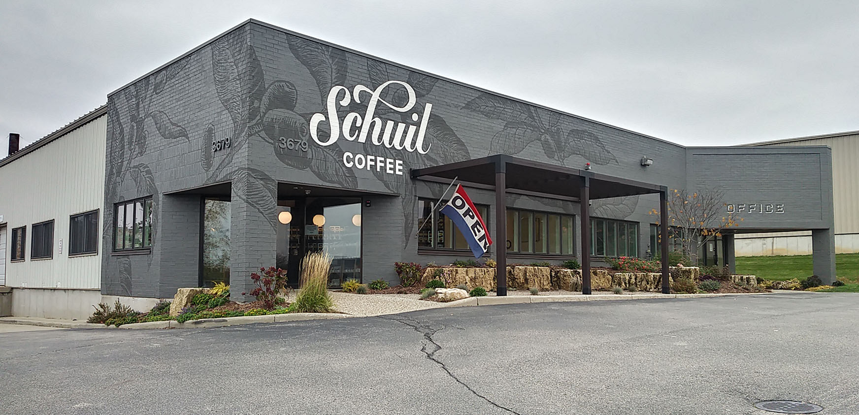 Schuil Coffee - Mural by Design