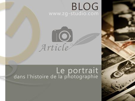 Le portrait dans l'histoire de la photographie