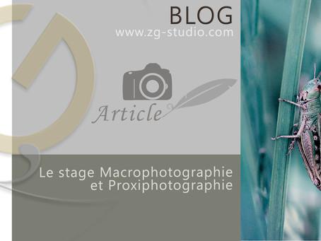 Le Stage Macrophotographie et Proxiphotographie