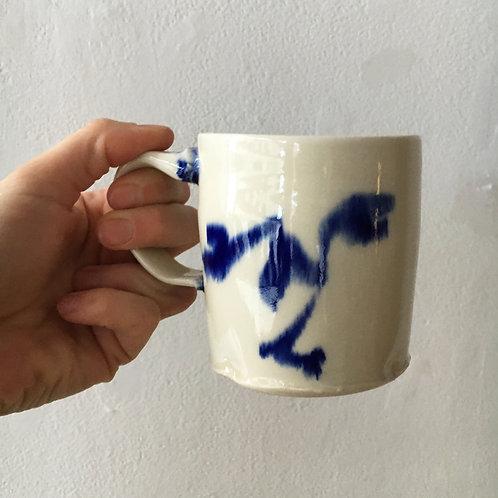 Painted Face Mug