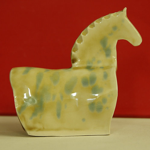 Ceramic Horse by Carolyn Edlund