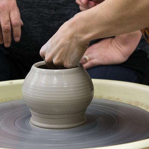 One-on-One Ceramics Instruction