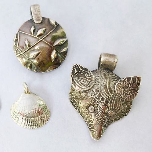 Introduction to Silver Clay (Sat/Sun 9/19-9/20)