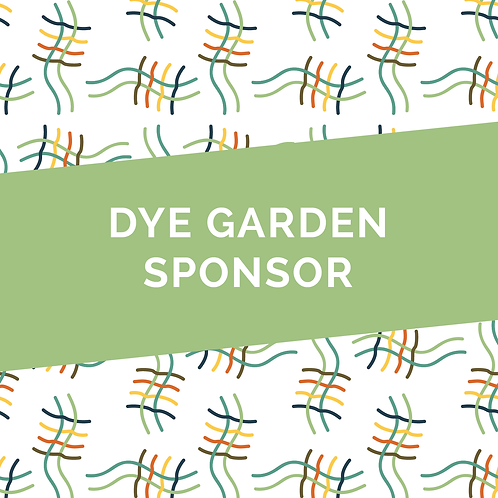 Dye Garden Sponsor