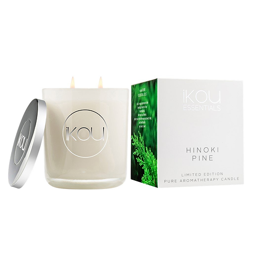 iKOU Hinoki Pine Pure Aromatherapy Candle