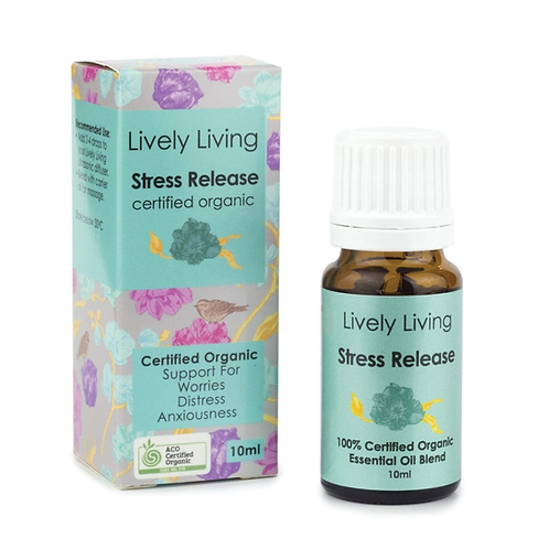 Organic Essential Oil - Stress Release
