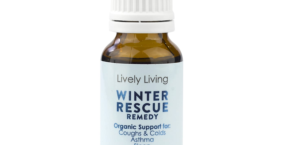 Organic Essential Oil - Winter Rescue Remedy