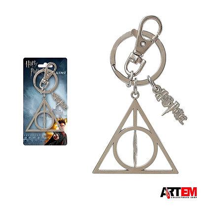 RELIQUIAS DE LA MUERTE Llavero Metálico Harry Potter MONOGRAM