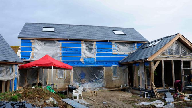 Fixed Oak Glazing - Part One