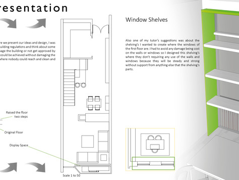 Conran Shop Week 13: Finalizing Design