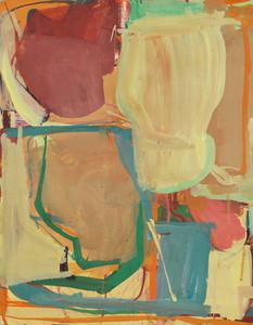 Gouache et crayon de couleur sur papier 39 x 50 cm   2018