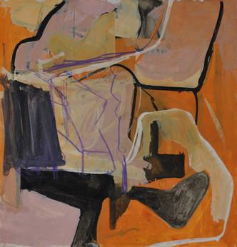 Gouache et crayon de couleur 28 x 30 cm   2019