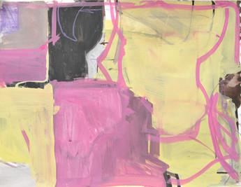 Gouache sur papier  21 x 29 cm  2015