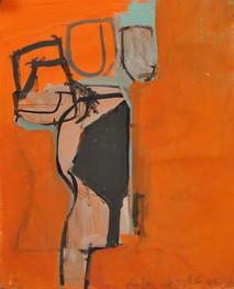Gouache sur papier  17,5 x 21,5 cm   2001