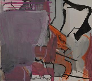 Gouache et crayons de couleur sur papier  29 x 32 cm   2018