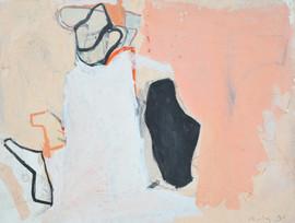Gouache sur papier  26,4 x 35 cm  1995