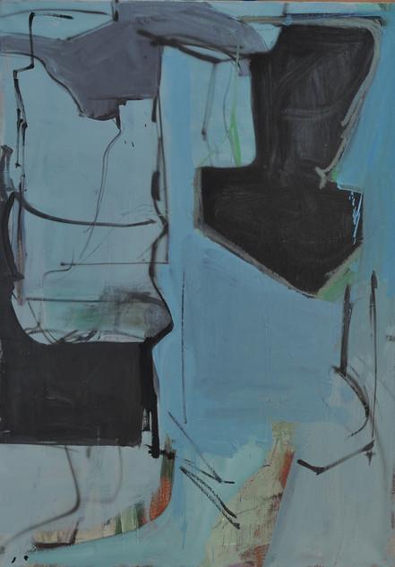huile sur toile 65 x 92 cm aout 2019