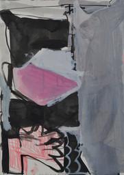 Gouache et crayon de couleur sur papier  30 x 42 cm   2019