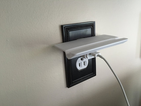 Smartphone Outlet smartphone wall outlet portable shelf | deckedoutgames