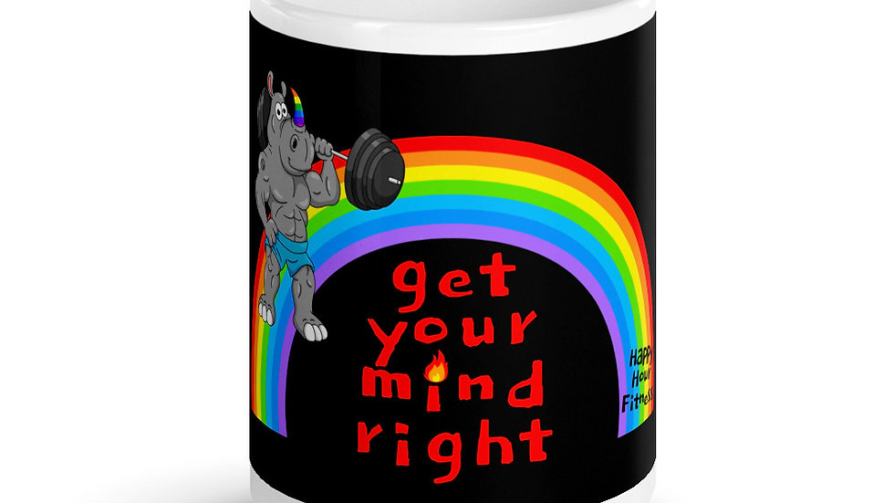 Get Your Mind Right. Yes You Can. - Mug (15oz)