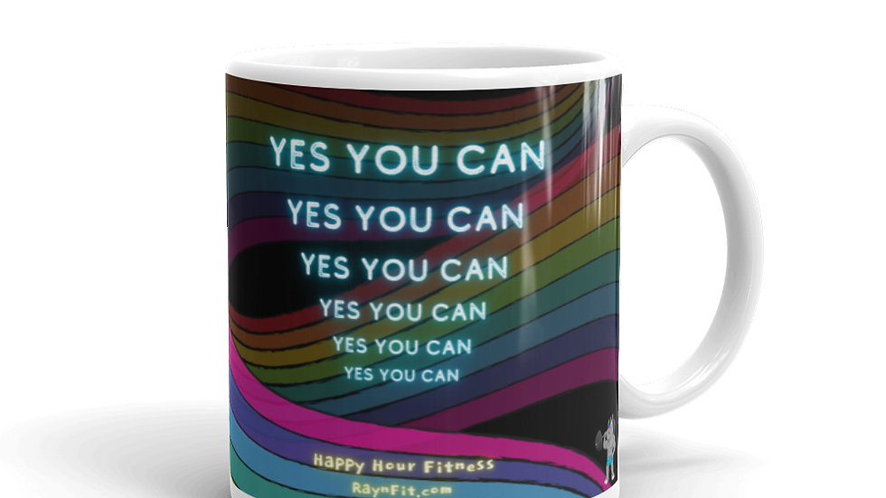 YES YOU CAN - Mug (11oz.)