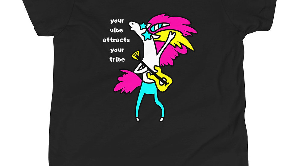 YOUR VIBE - Youth Short Sleeve T-Shirt