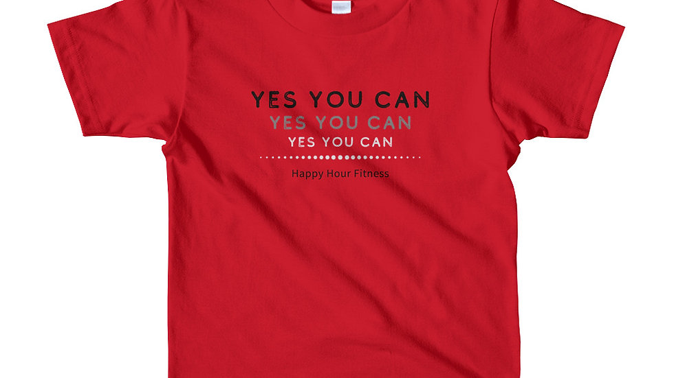YES YOU CAN - Short sleeve t-shirt (kids)