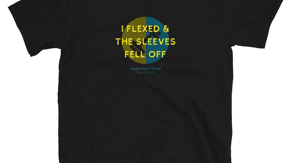 I FLEXED (DIY sleeve cut) - Unisex T-Shirt