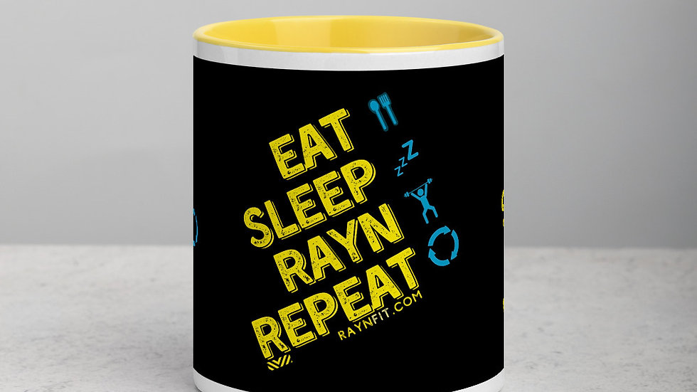 EAT SLEEP RAYN REPEAT - Mug (11oz)