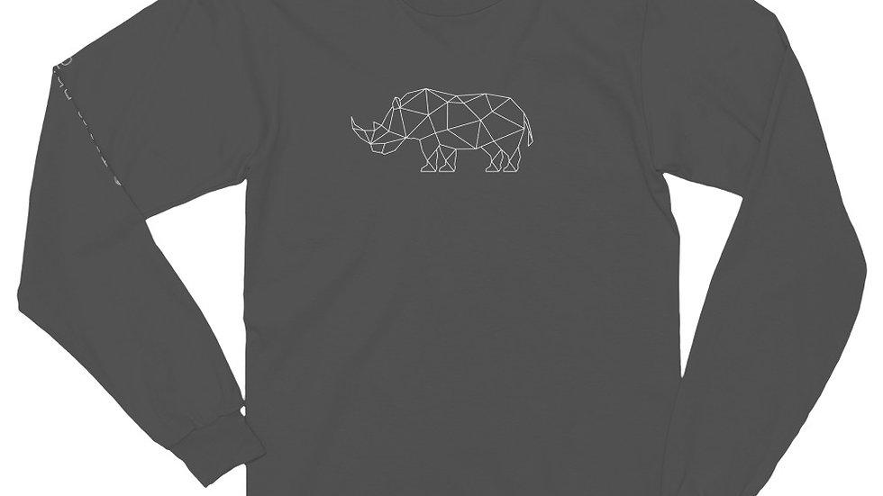 GEO RHINO - Long sleeve t-shirt (unisex)