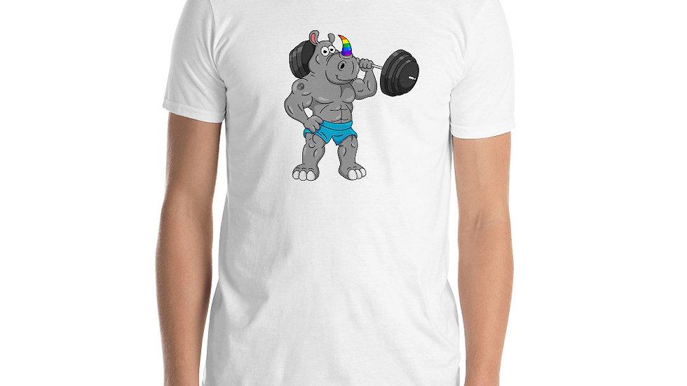 RHINO LOGO - Short-Sleeve Unisex T-Shirt